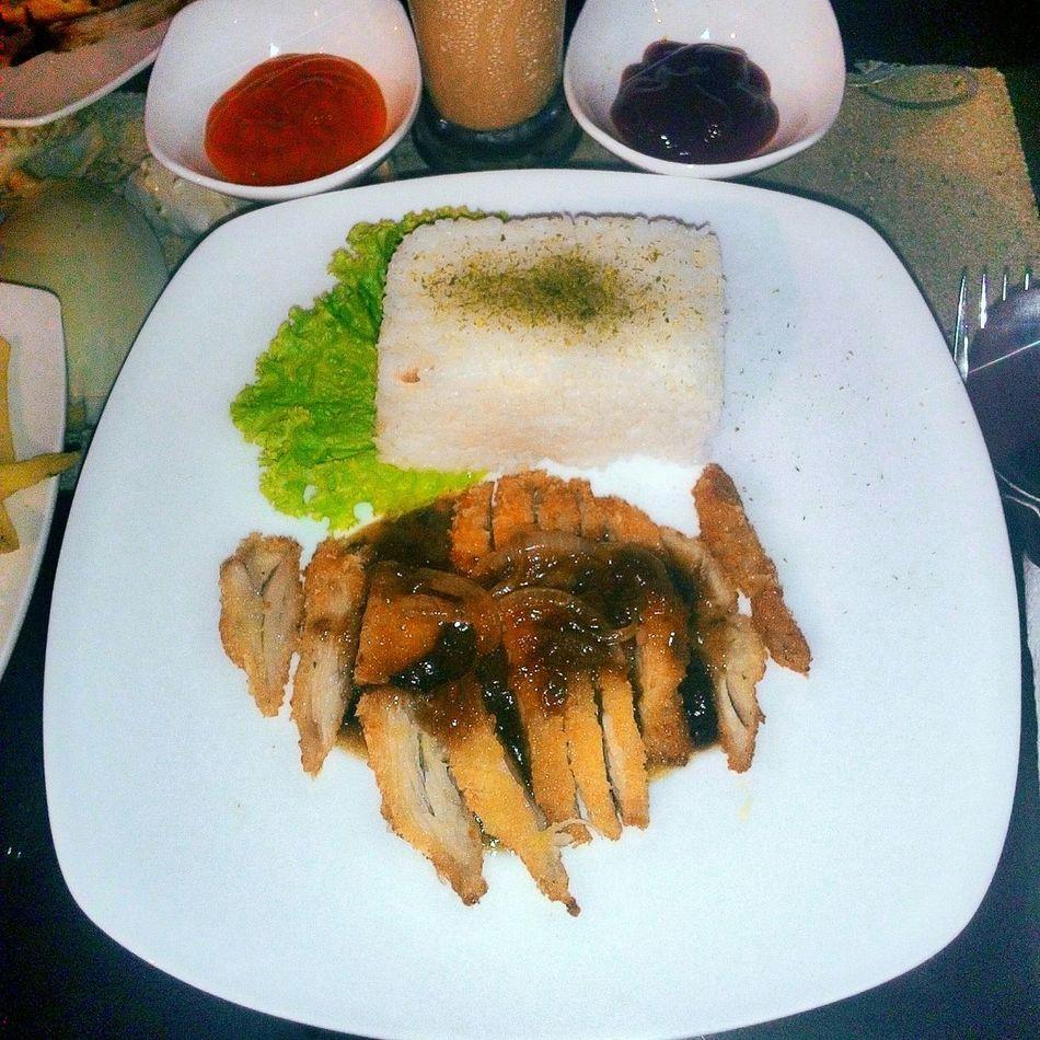 Chicken katsu😙💕💕 Check This Out Food Foodphotography Foodies Food Porn Hello World Chicken Chicken Katsu Dinner Girls