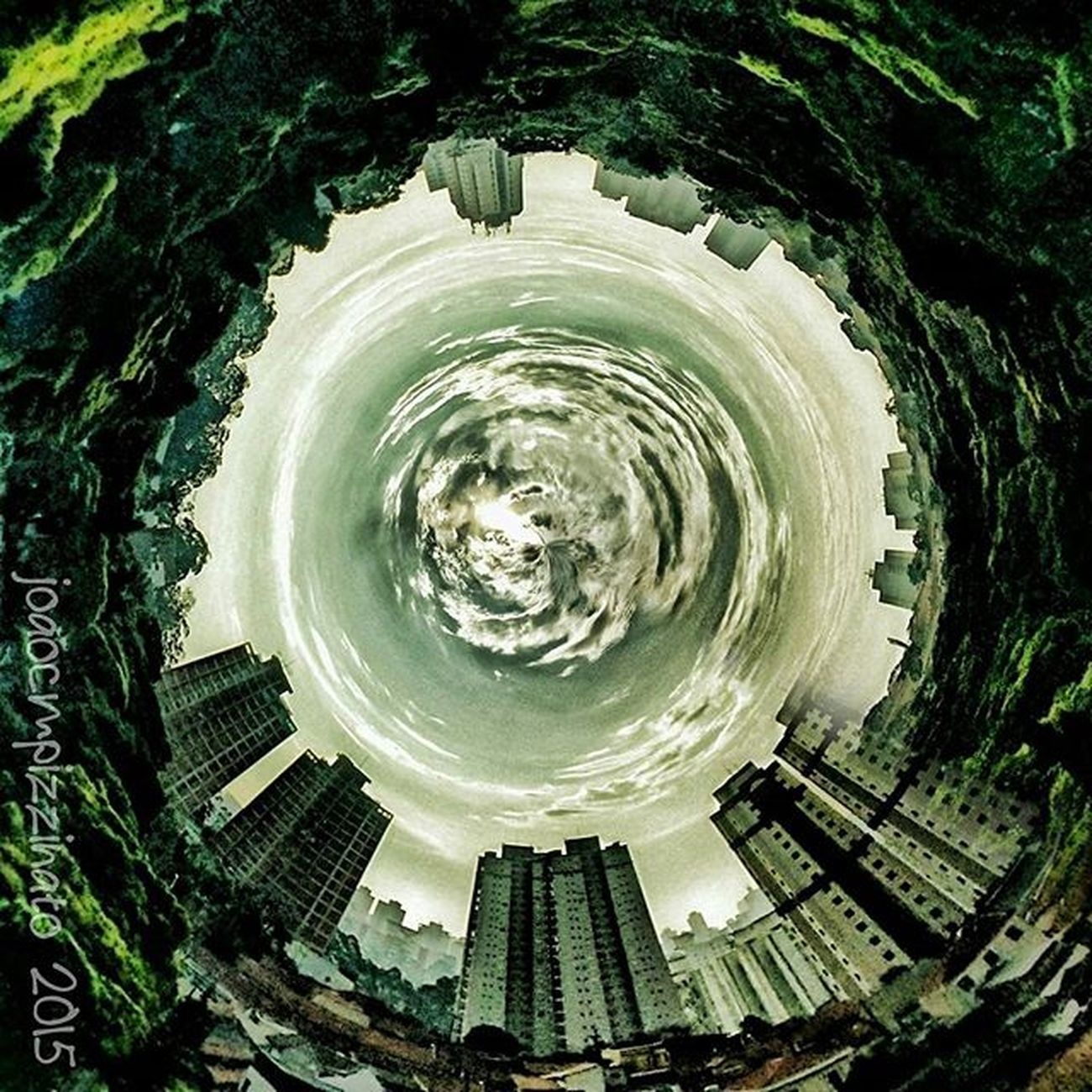 Strange World 🌍. World Neighborhood Planet Tinyplanetfx edited effect colors city zonasul saopaulo brasil photograph photography obscure_of_our_world