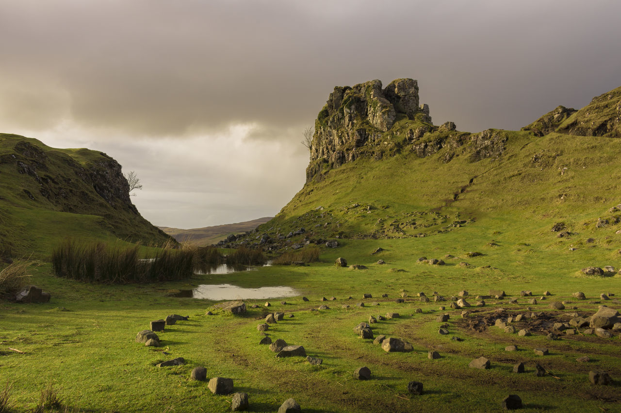 Fairy Glen Touristy Scotland Scotlandsbeauty GB Clouds Outdoors EyeEm Best Shots EyeEmNewHere Travel Destinations Scotlahindlover Day Explore Landscape_photography Uig Canon Sightseeing Atmospheric Magic Ferry Valley Nature Tourism Highlands Canonphotography