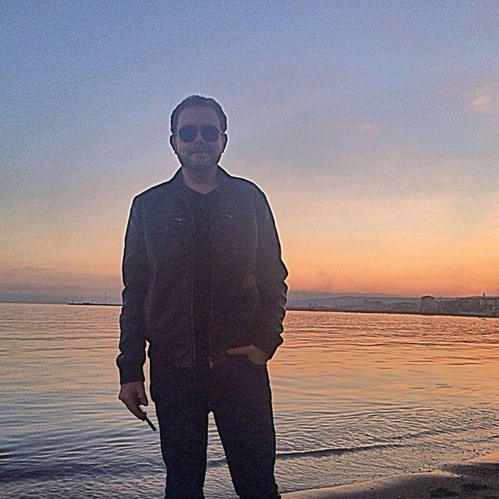 Biraz tatil iyidir Landscape Smile Happy Holiday Sunset Sunny Sunglasses Warmy Colours