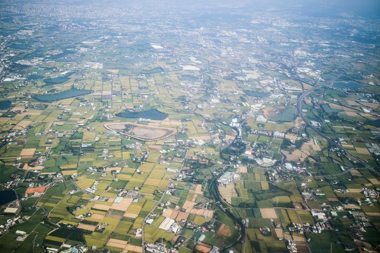 Aerial View Agriculture City Landscape Outdoors Residential Building Night Nature Backgrounds Built Structure Rural Scene No People Scenics Patchwork Landscape Architecture Beauty In Nature Illuminated Cityscape Housing Development