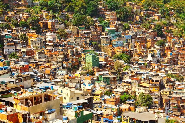 Colors And Patterns Architecture Crowded Pattern Cityscape Residential Structure High Angle View House Multi Colored Full Frame Community Aerial View Outdoors Favela Canon CarlZeiss