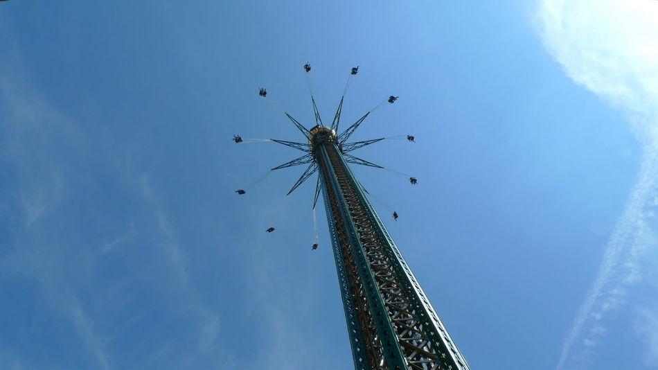Beautiful stock photos of vienna, Amusement Park, Amusement Park Ride, Arts Culture And Entertainment, Chain Swing Ride