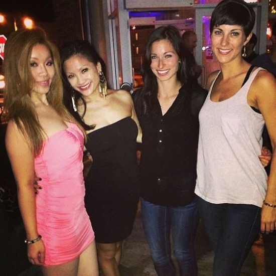 Night out with the ladies. Niagarafalls Jacks