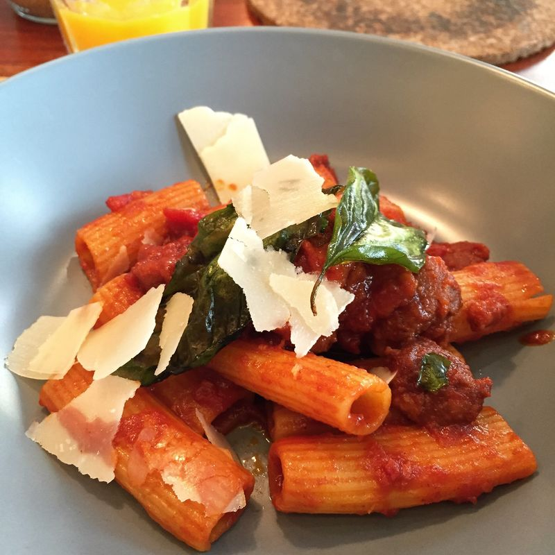 Rigatoni with Spanish Chorizo Mealtime