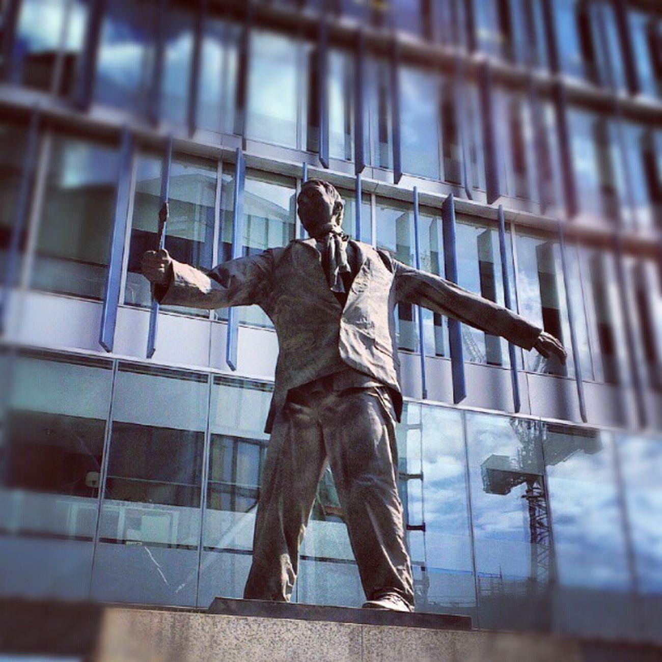 Neo Bankside statue. Neobankside Southwark  Southbank London