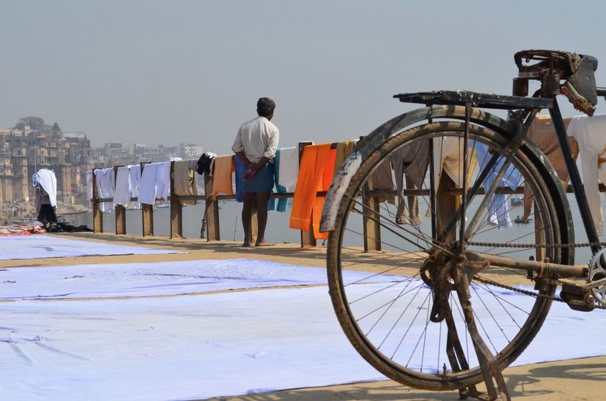 Bathing City Day Ganges Ganges River India Indian Culture  Outdoors Religion River Tradition Varanasi Water