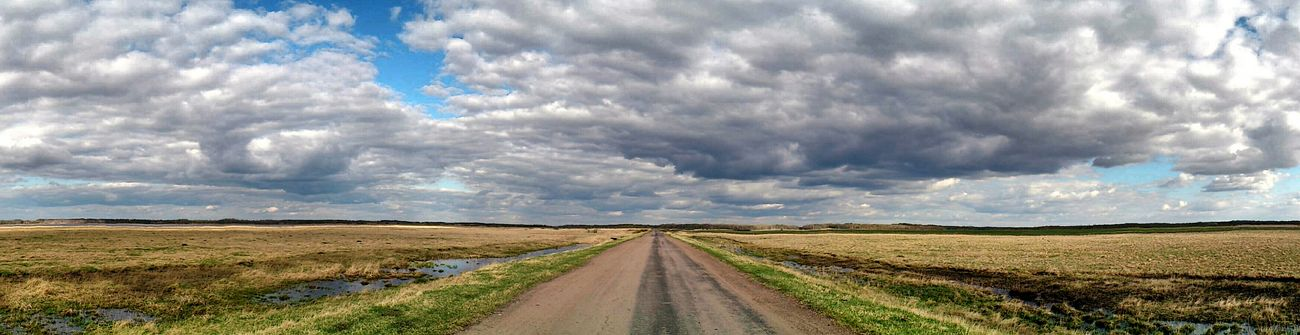 Русские просторы Nature Nature_collection Landscape_Collection Clouds And Sky Landscape Sky Russia Panoramic Photography Eyem Best Shots