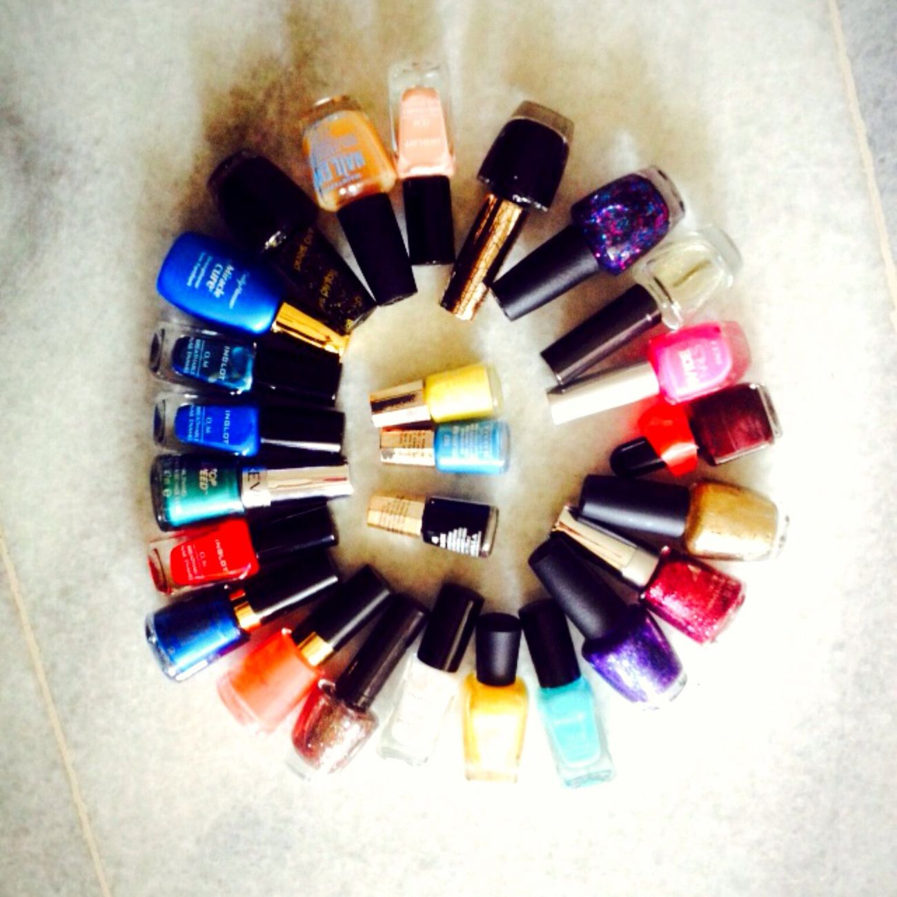 You can order if you want Revlon Mavala,opi, Zoya,faceshop,inglot
