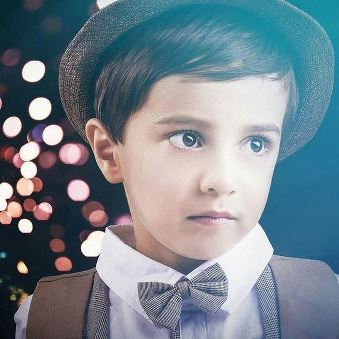 Portrait - © copyright: Madjid Mirsalimi - 2016 Portrait Kasraphotography Bokeh Kid Kids Night Strob Onelight