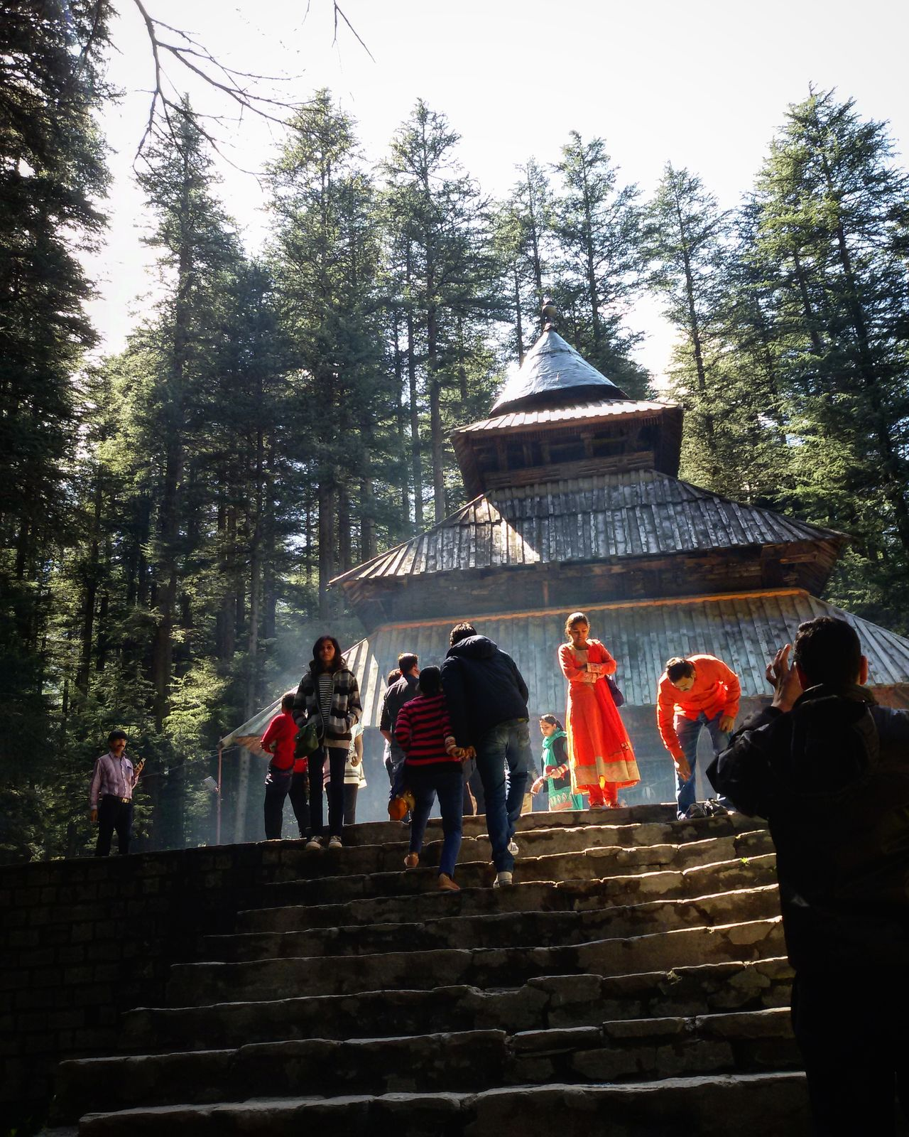 People And Places Hidimba Hidimbatemple Manali HIDIMBA TEMPLE .. Hidimba_devi Manali Travel Destinations Tree Tourism Famous Place Travel Architecture Built Structure Steps Person Tourist Lifestyles Leisure Activity Spirituality Vacations Stone Material The Past History Entrance Building Exterior