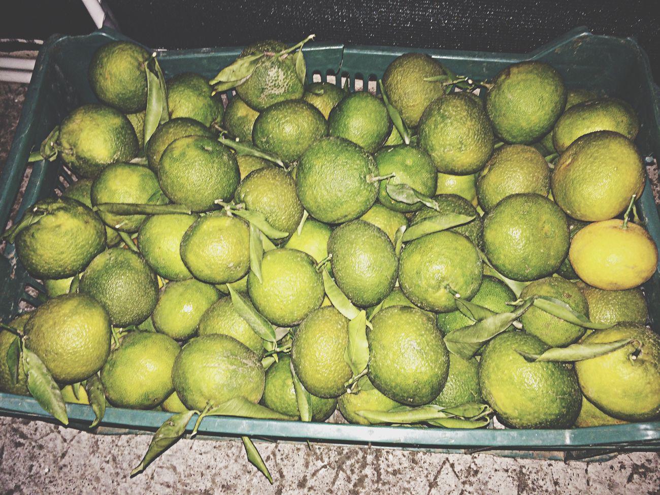 Eat More Fruit green mandarine !!!