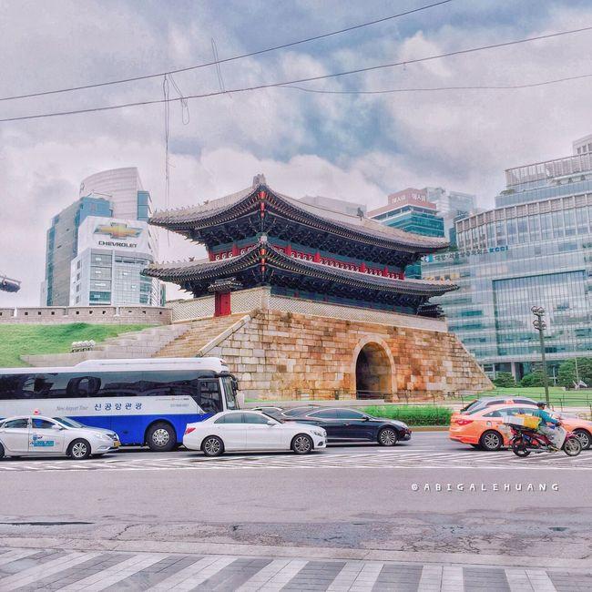 Historic Historical Building Korea Namdaemun Namdaemun(south Gate Of Seoul) Trip Life