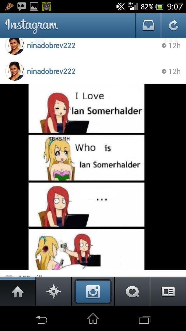 I LOVE IAN SOMERHALDER??❤? That's Me Check This Out Ian Somerhalder ♥ Looove