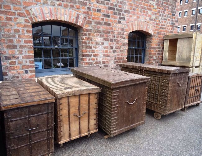 Boxes Trunks Chests Wooden Wood Basket Storage