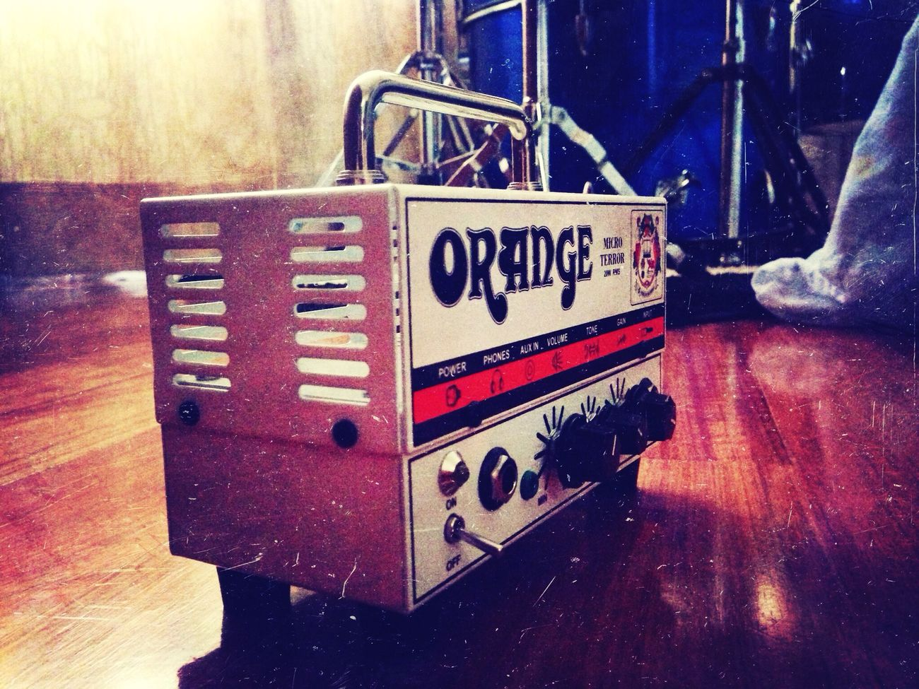 Orange Amp Mini Terror