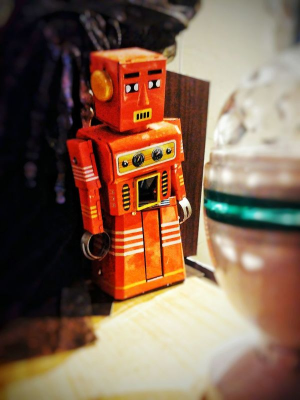 Old-fashioned Antique No People Indoors  Retro Styled Close-up Day Film Industry Robot Robo Robots Robots!!!