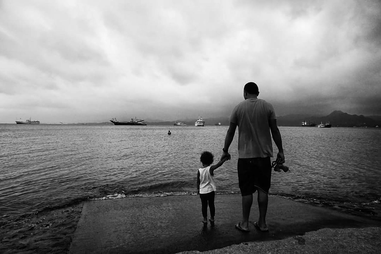 People And Places Water Tranquil Scene Streetphotography Street Photography Streetphotography Colors Fiji Islands Black & White SUVA FIJI ISLANDS Monochrome Photography
