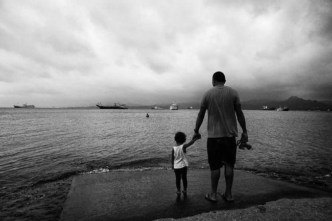 People And Places Water Tranquil Scene Streetphotography Street Photography Streetphotography Colors Fiji Islands Black & White SUVA FIJI ISLANDS Monochrome Photography