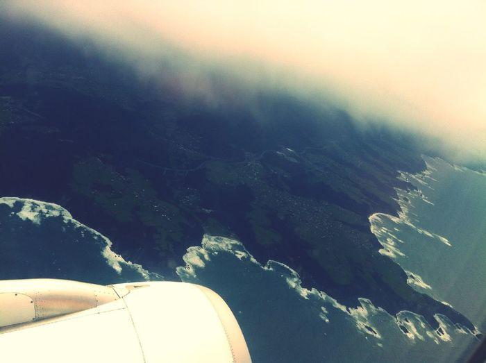 Sobrevolando Asturias