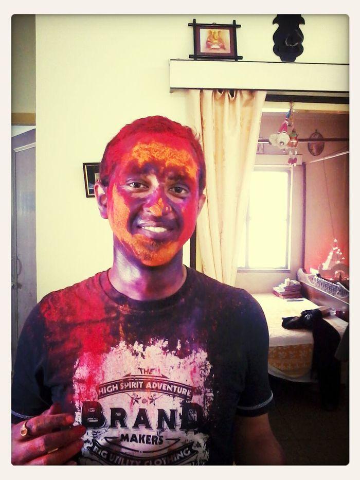 Colours Face Painting Festival Potrait