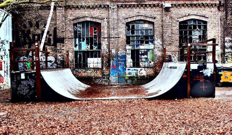 Abandonned skate park