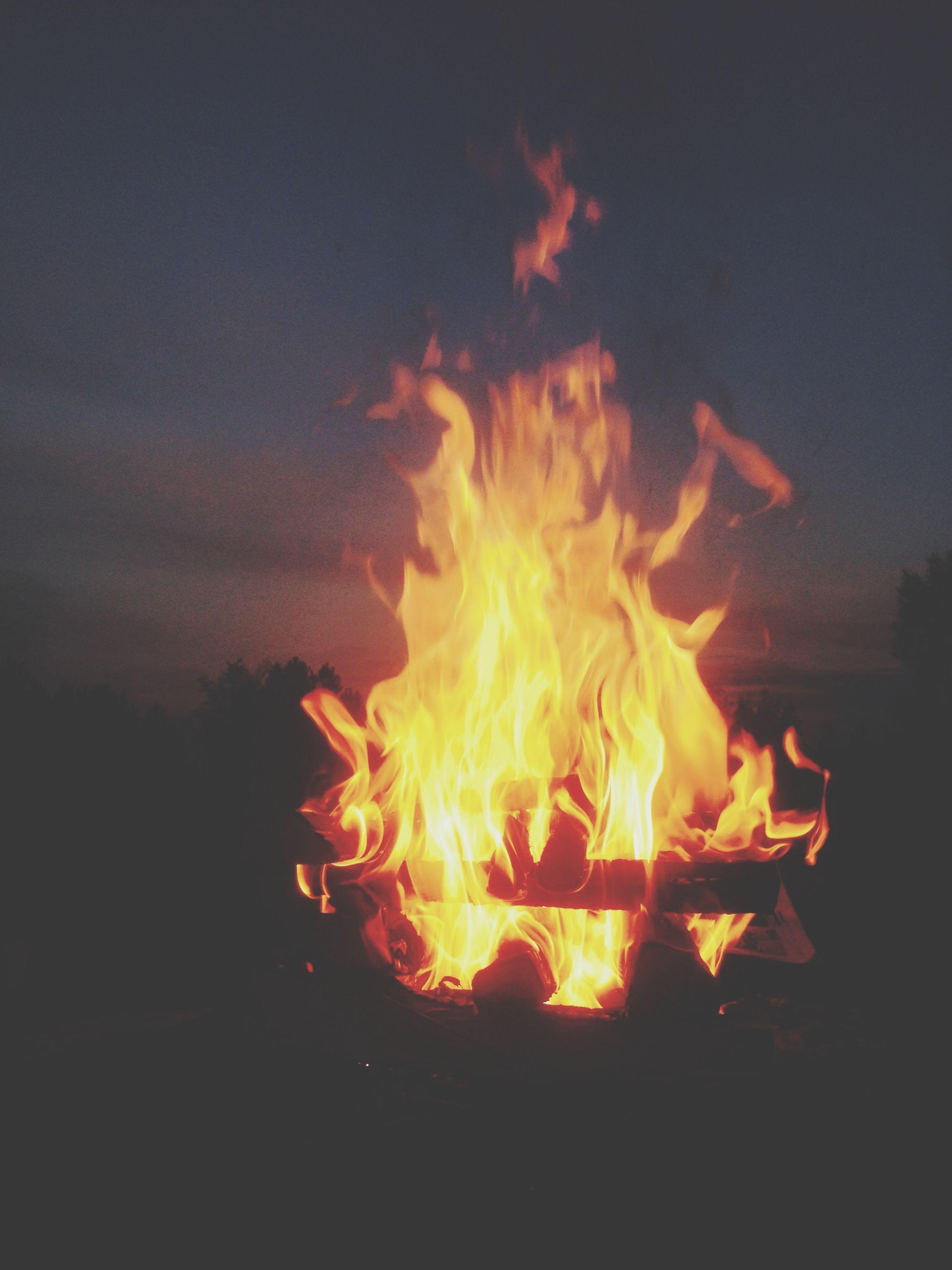 flame, burning, fire - natural phenomenon, heat - temperature, bonfire, glowing, fire, night, firewood, campfire, heat, orange color, motion, illuminated, close-up, dark, long exposure, outdoors, smoke - physical structure, light - natural phenomenon