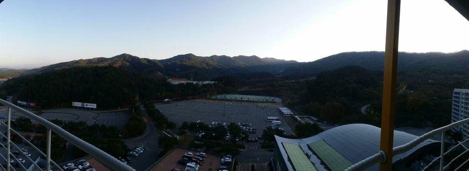 morning in gangwon