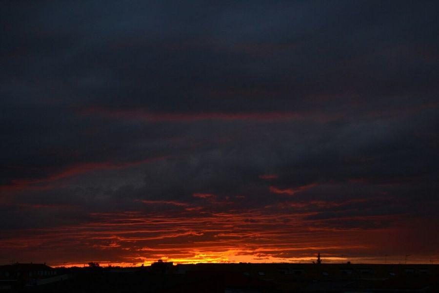 No Filter. Sky Skyporn Clouds Sunset