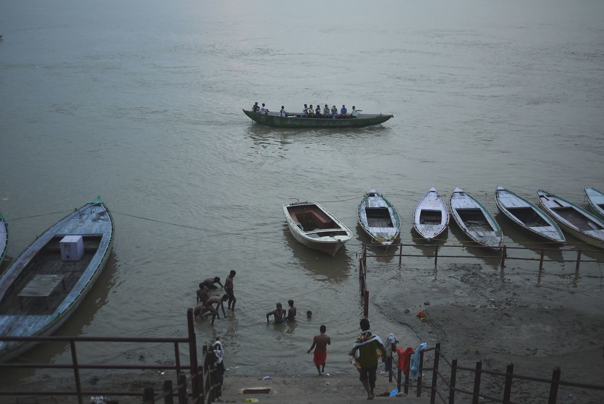 Varanasi Morning Ritual River Boat