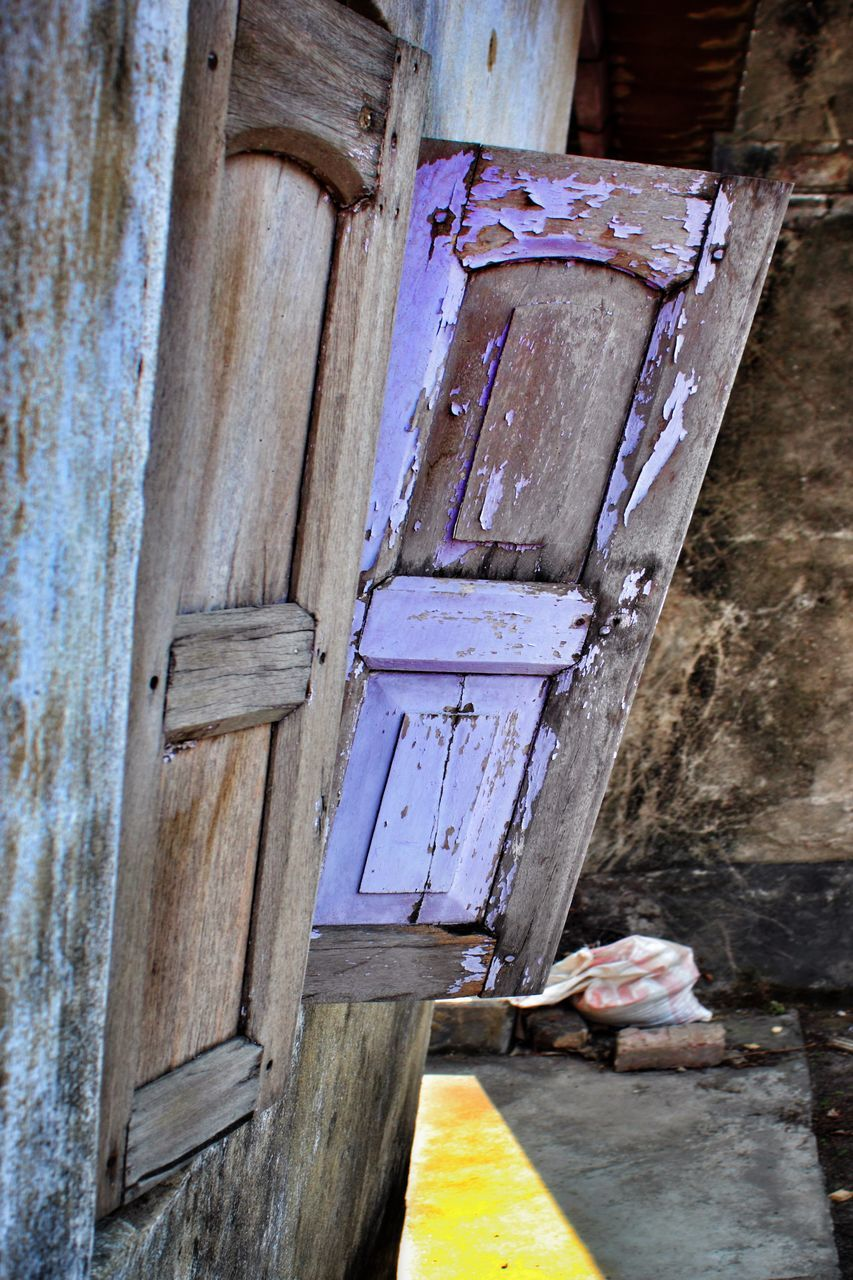 wood - material, door, day, outdoors, no people, built structure, latch, architecture, close-up
