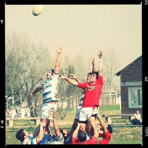 sabado a puro Rugby y Hockey