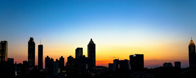 Sunset in Atlanta. Sunset Architecture Cityscape Atlanta View Skyporn Summertime Cityscapes Golden Hour Blue Wave Fine Art Photography