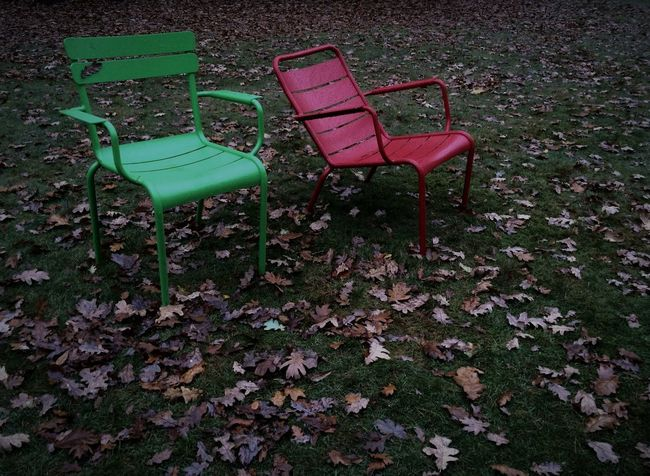 Empty Seats Take A Seat At The Park Autumn Collection