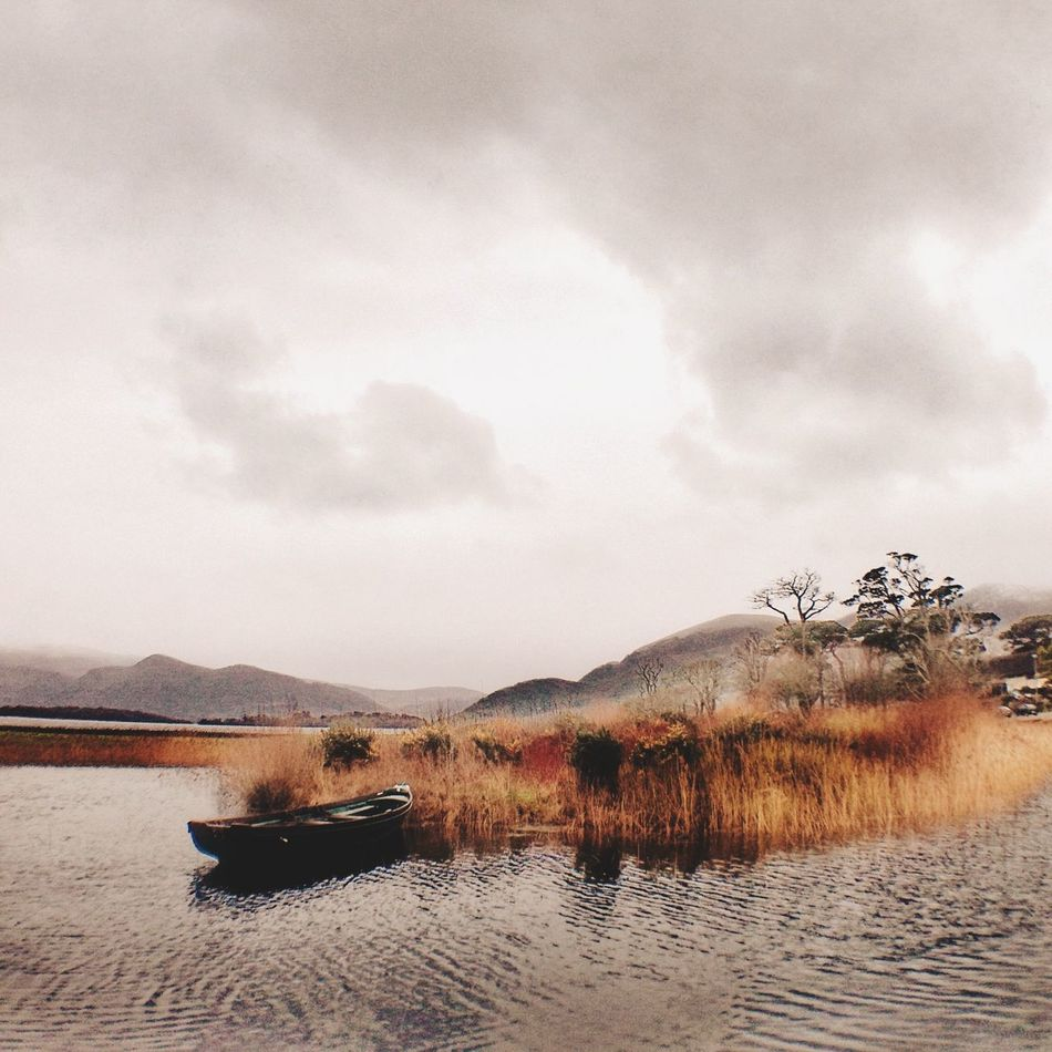 Beautiful stock photos of ireland, Boat, Calm, Cill Airne, Cloud