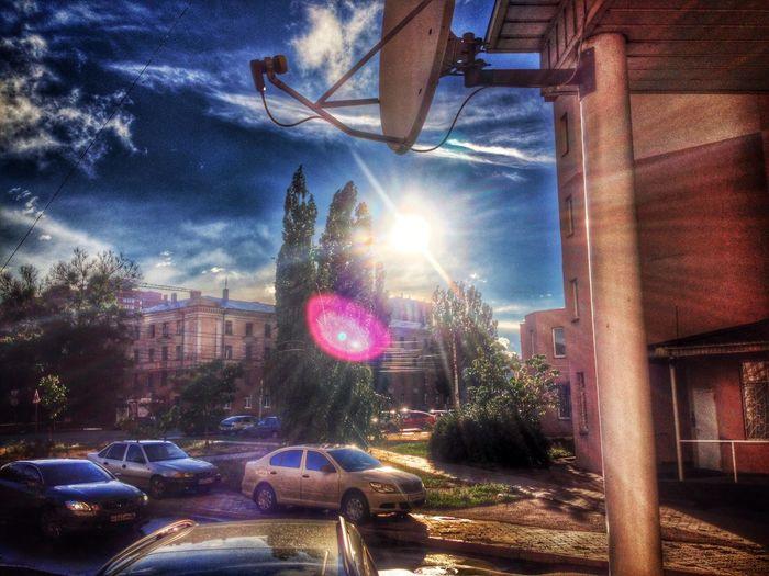 Voronezh Enjoying The Sun HDR Cool