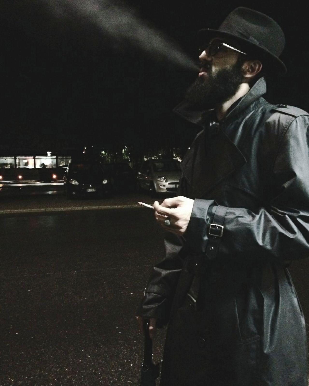 Smocking Smoke Weed Classic Style Fashion Beard Beard Festival Beardman Beardedguy Beardedking