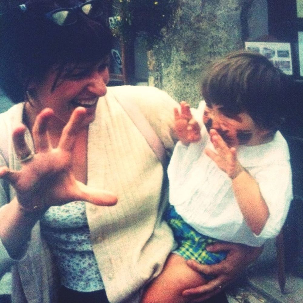 Old times <3 mummy and me :* Getting In Touch That's Me