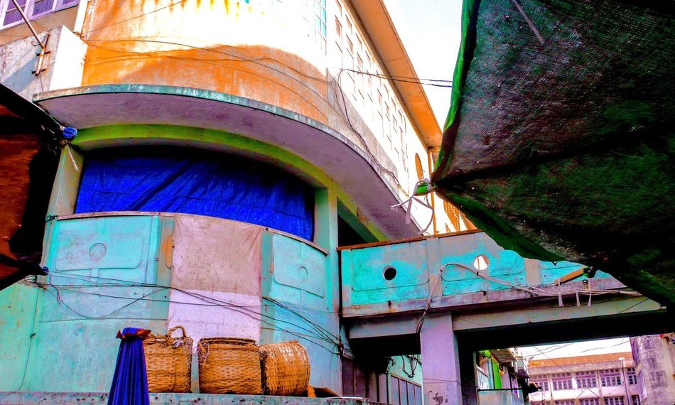 The Color Of School Architecture Multi Colored Leica D-Lux Mke's Photographic's Traveling Architecture Architectural Detail Colors Of Life Colors Taunggyi Myanmar mke/04.2016 Taunggyi TakeoverContrast Exploring Style