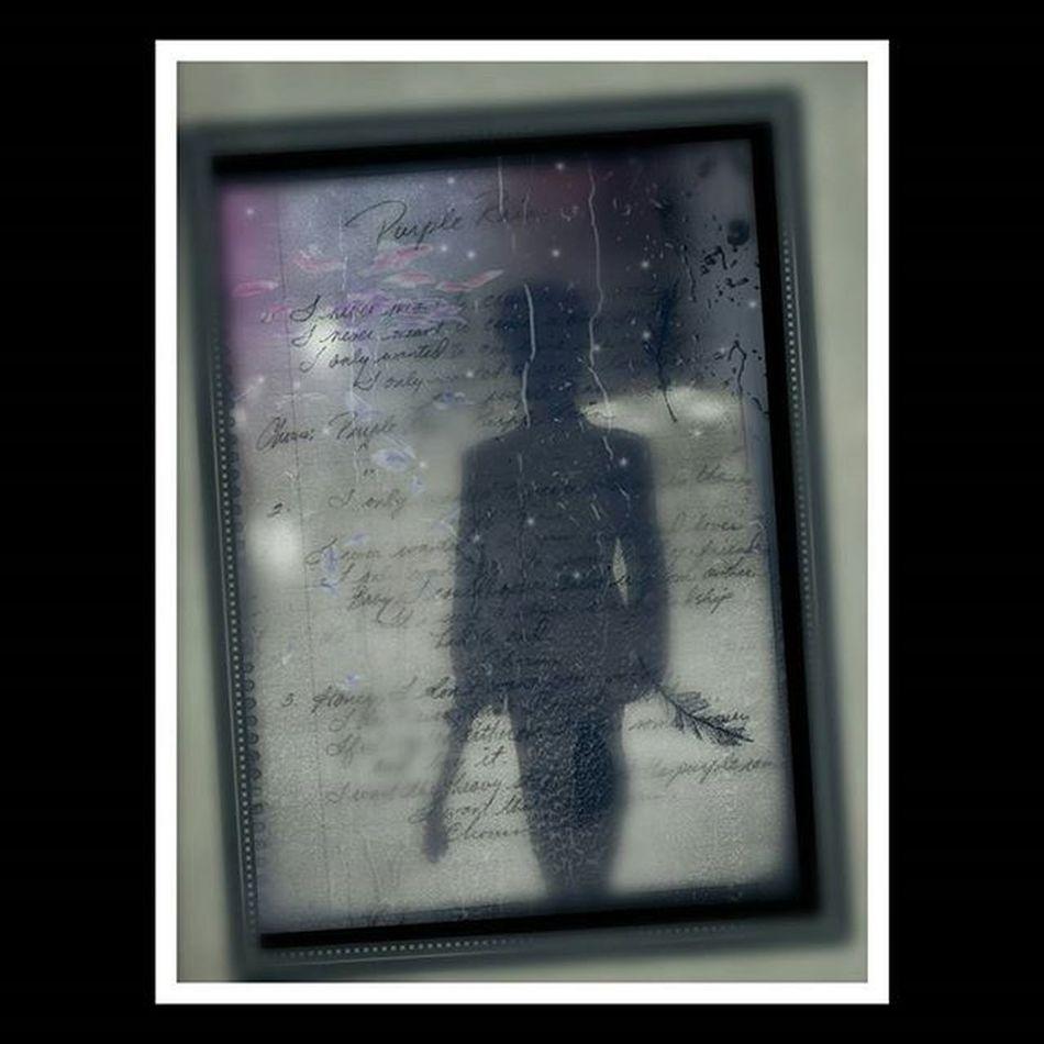 I promise this to be my last Prince  piece. I found Purple Rain lyrics hand written by the man himself. I needed to create something. Ripprince Digitalart  Photomanipulation Purplerain💜 . .