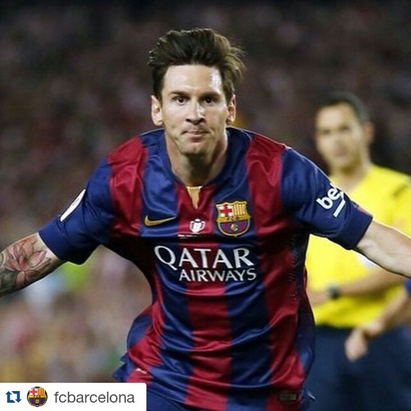 This guy was absolutely on fire last night he proved to his haters that why he is the best Repost @fcbarcelona ・・・ What did you think of Messi's goal? Can you define it in the form of a hashtag? Com has vist el 0-1 de Messi? T'atreveixes a definir-lo amb un hashtag? ¿Cómo has visto el 0-1 de Messi? ¿Te atreves a definirlo con un hashtag? Copafcb FinalCopa @leomessi @fcbarcelona Campionsfcb