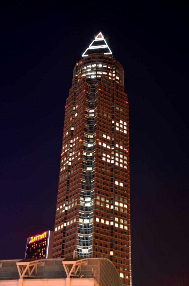 Architecture Night Lights Nightphotography Frankfurt Frankfurt Am Main Bankenviertel Wolkenkratzer Skyline