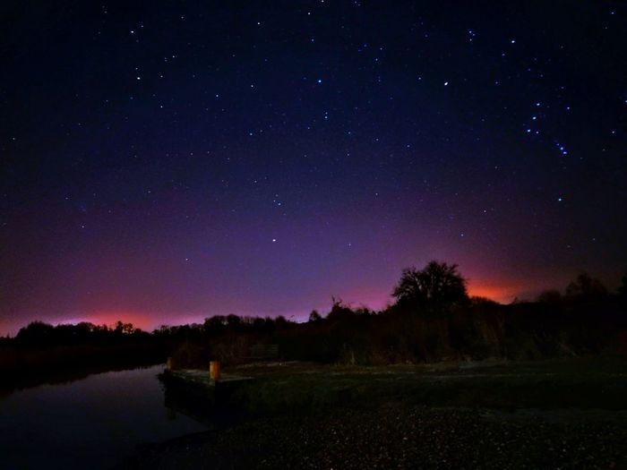 Astronomy Beauty In Nature Constellation Galaxy Idyllic Illuminated Infinity Milky Way Nature Night No People Outdoors Scenics Sky Space Star - Space Star Field Starry Tranquil Scene Tranquility Tree EyeEm Ready