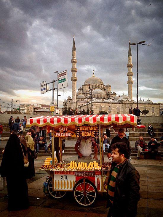 Gezgin İstanbul'da.. Seyyarsatıcı