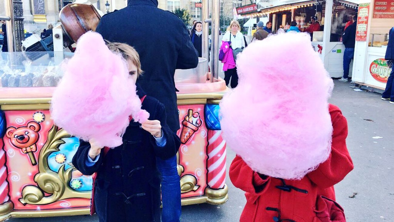After the ParisAttacks we wanted the Children to feel like children again ! So Sugar it was ! Paris