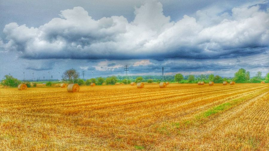 Hdrphotography Landscape Field Spaziergang
