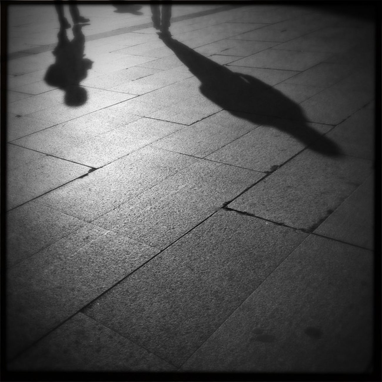 Streetphotography Hipstamatic Blackandwhite Shadows