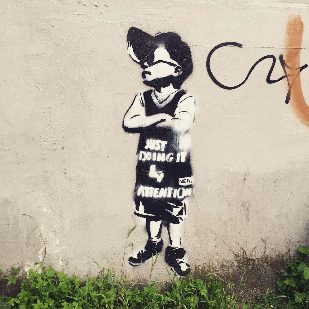 Hamburg Streetart Stencil Art