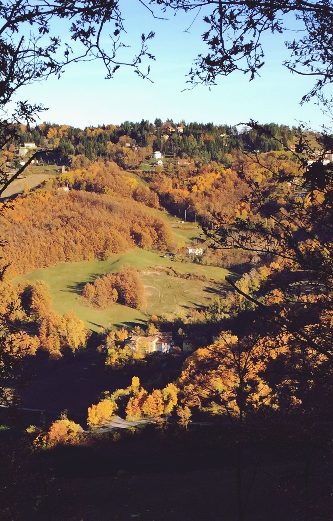 Valli in autunno