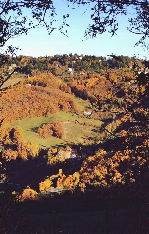 Valli in autunno